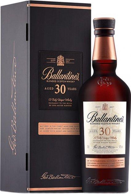 Виски Ballantine's 30 лет 0.7 л 40% в подарочной упаковке (5010106110393) - изображение 1