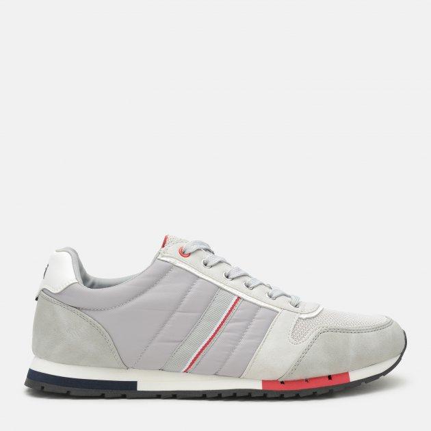 Кроссовки XTI Grey Nylon Combined Men Shoes 48718 44 27 см Серые (8434739386654) - изображение 1
