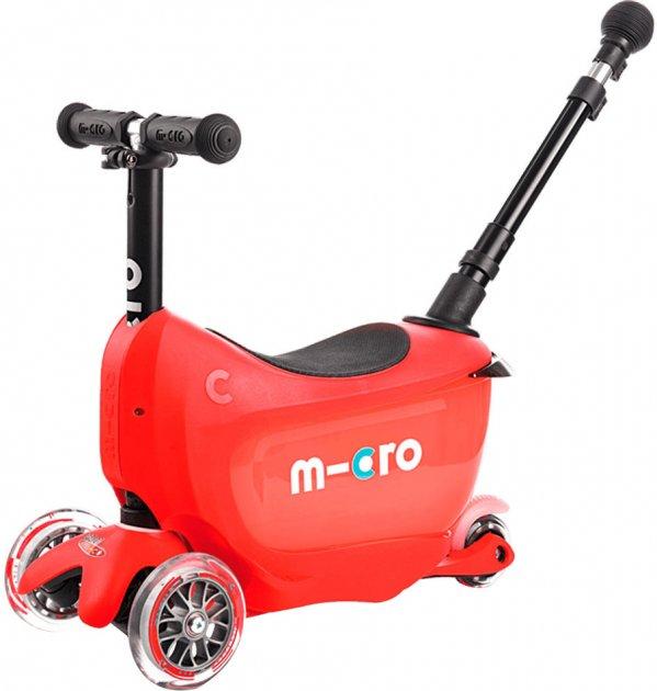 Самокат Micro Mini 2Go Deluxe Plus Red (MMD032) (7640108563316) - зображення 1