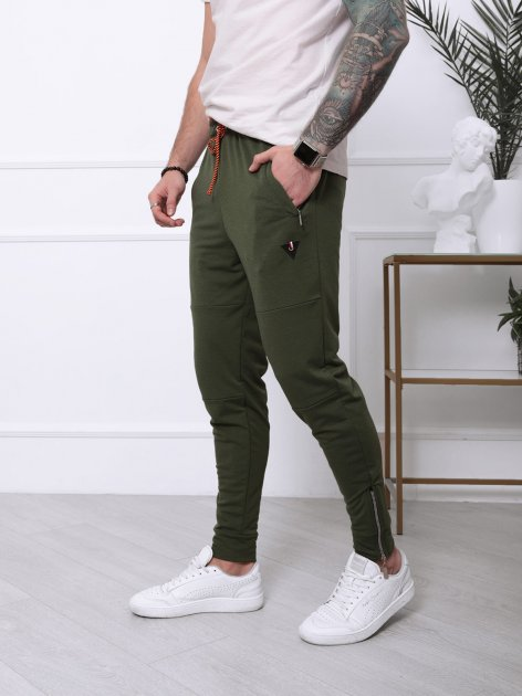 Спортивные штаны ISSA PLUS SA-127 XL Хаки (issa2001329329849) - изображение 1