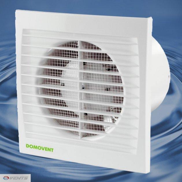 Вентилятор витяжний Домовент 150 СВ (шнурковий вимикач) - изображение 1