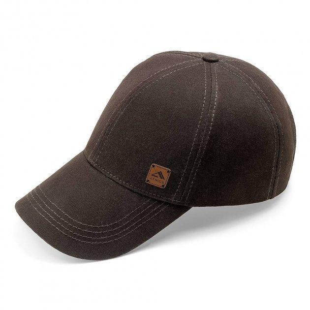 Бейсболка мужская котоновая кепка с регулировкой ATRICS IBK180 XL / 59-60 RU Коричневая - изображение 1