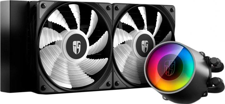 Система рідинного охолодження DeepCool Castle 240 RGB V2 - зображення 1