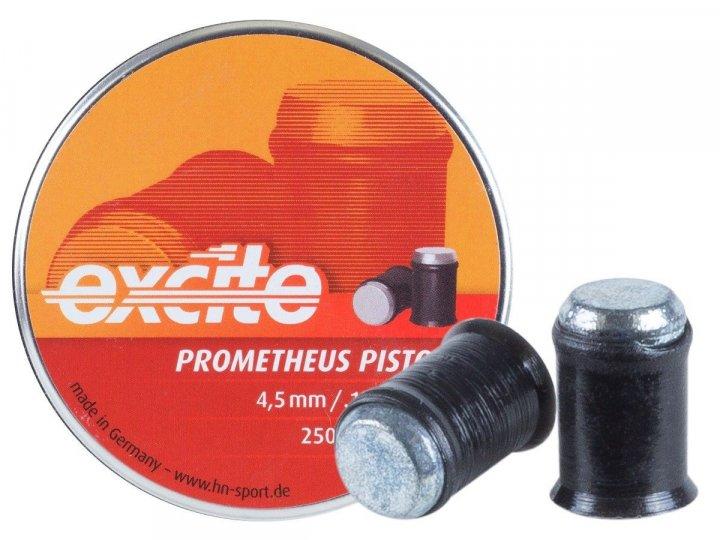 Свинцовые пули H&N Excite Prometheus Pistol 4,5 мм 0,30 г 250 шт (1453.02.48) - изображение 1