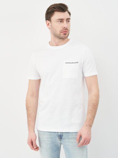 Футболка Calvin Klein Jeans 10490.2 S (44) Белая - изображение 1