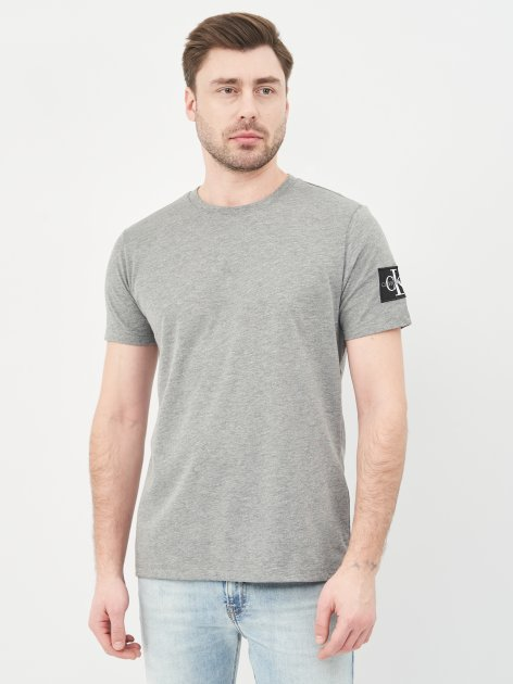 Футболка Calvin Klein Jeans 10492.3 S (44) Серая - изображение 1