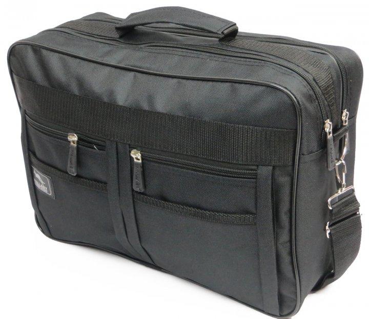 Практична сумка-портфель Wallaby 2633 black, чорний - зображення 1