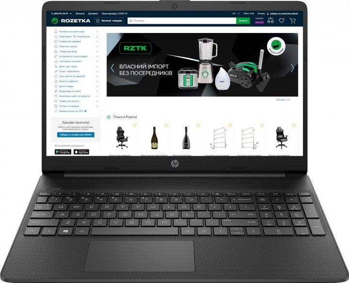 Ноутбук HP Laptop 15s-eq0001ua (9RH24EA) Jet Black - зображення 1