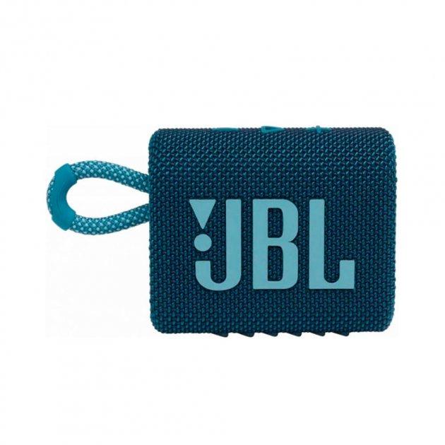 Портативная акустика JBL GO 3 Blue (JBLGO3BLU) - изображение 1