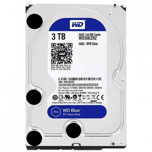 "Жорстку диск 3.5"" 3TB Western Digital (WD30EZRZ) - зображення 1"