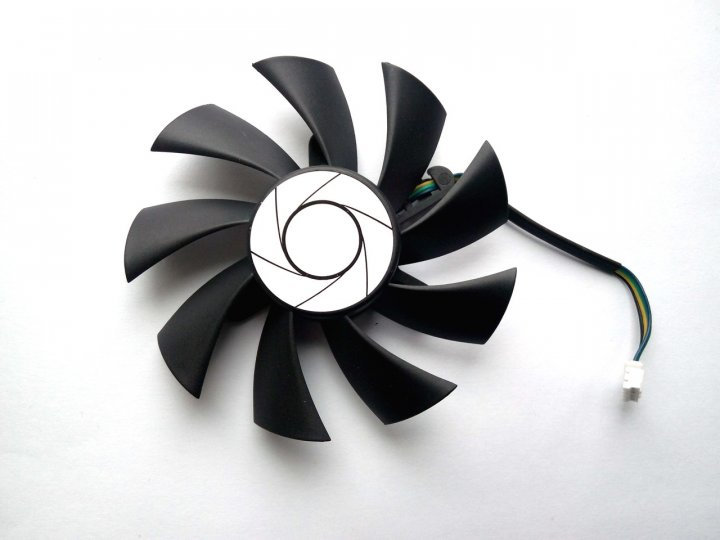 Вентилятор ONG HUA для відеокарти MSI HA9015H12F-Z (HA9515H12SF-Z) (№81) - зображення 1