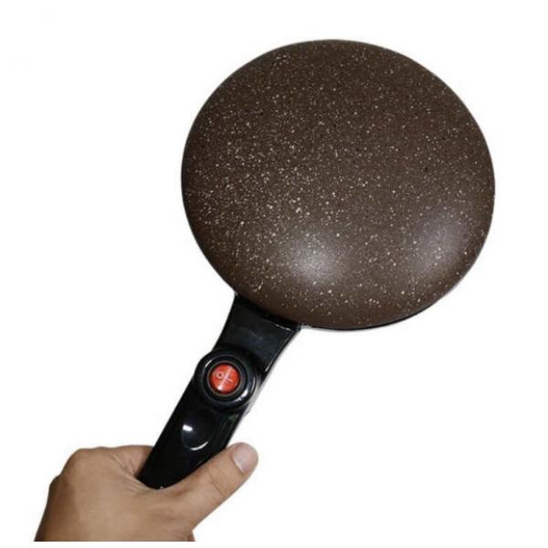 Блинница сковорода для блинов 20 см SINBO SP 5208 Brown - изображение 1