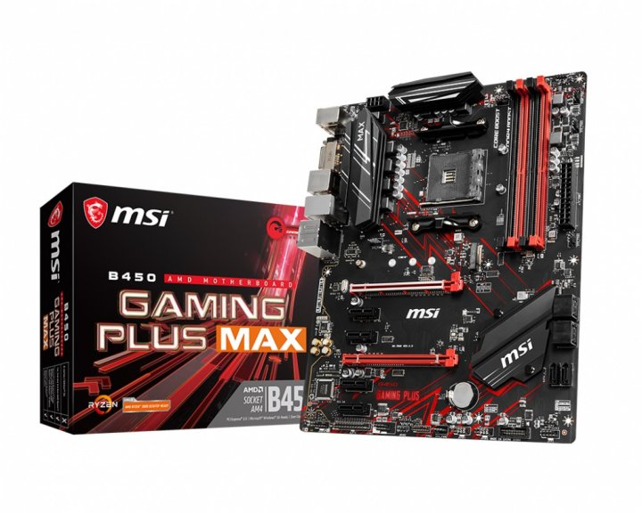 Материнська плата MSI B450 Gaming Plus Max Socket AM4 - зображення 1