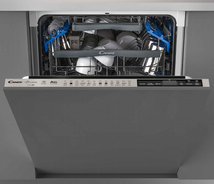 Вбудована посудомийна машина CANDY CDIMN 4S613PS/E - зображення 1