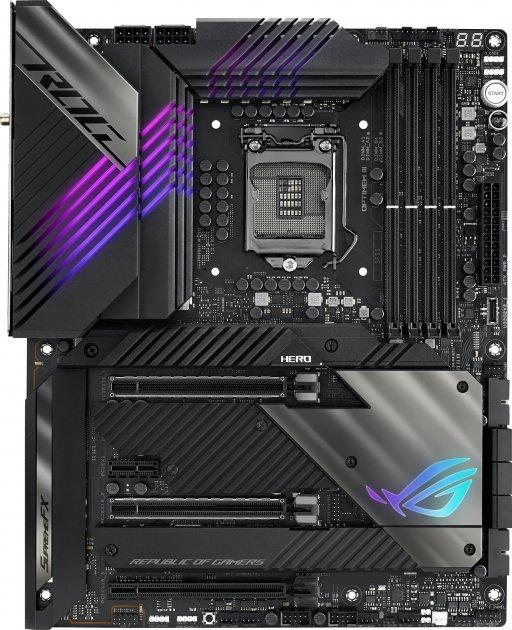 Материнская плата Asus ROG Maximus XIII Hero (s1200, Intel Z590, PCI-Ex16) - изображение 1