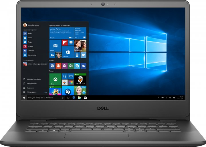 Ноутбук Dell Vostro 14 3400 (N4011VN3400EMEA01_i5XeW) Accent Black - изображение 1