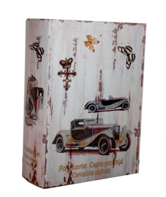 """Книга-сейф """"Автомобиль"""" книга тайник в твердом переплете (80211/3025-5) - изображение 1"""
