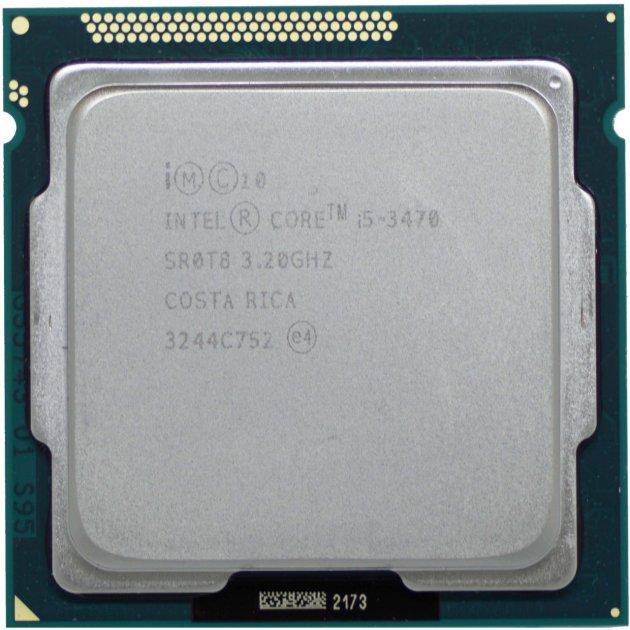 Процессор Intel Core i5-3470 3.2GHz/6MB/5GT/s (SR0T8) s1155, tray - изображение 1