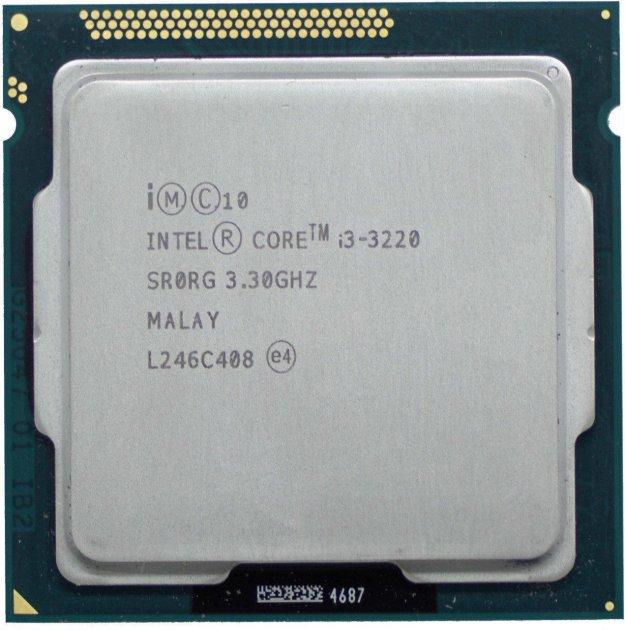 Процессор Intel Core i3-3220 3.3GHz/3MB/5GT/s (SR0RG) s1155, tray - изображение 1