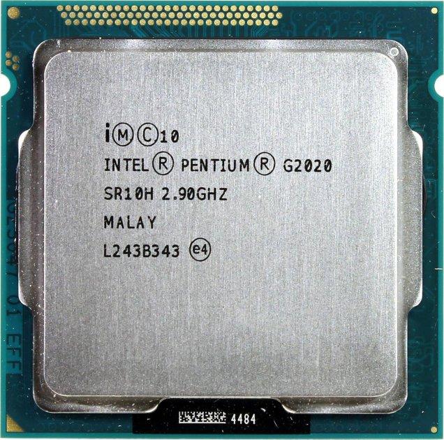 Процесор Intel Pentium Dual Core G2020 2.9 GHz/3MB/5GT/s (SR10H) s1155, tray - зображення 1