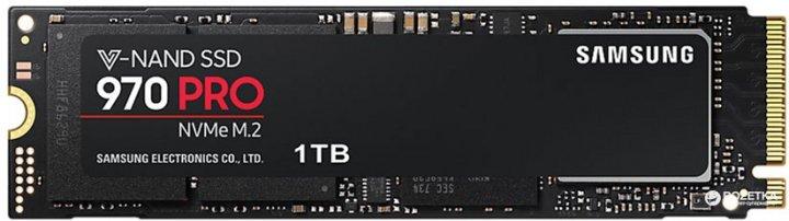 Samsung 970 Pro series 1TB M. 2 PCIe 3.0 x4 V-NAND MLC (MZ-V7P1T0BW) - зображення 1