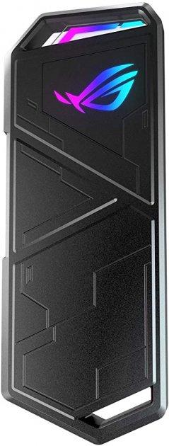 Внешний карман Asus ROG Strix Arion Lite для M.2 SSD NVMe (PCIe) - USB 3.2 Type-C (ESD-S1CL/BLK/G/AS) - изображение 1