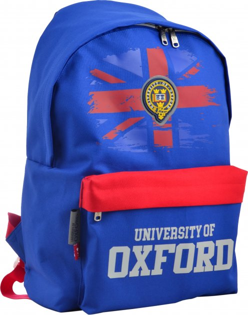 Рюкзак молодежный Yes SP-15 Oxford dark blue для мальчиков 0.46 кг 41х30х11 см 13.5 л (555026) - изображение 1
