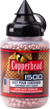 Кульки Crosman Copperhead BB 0.34 г 1500 шт (0737) - зображення 1