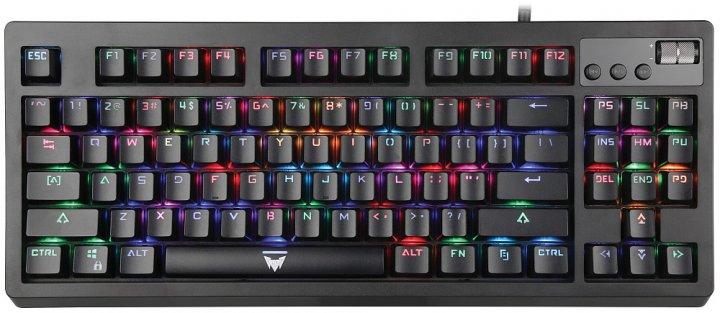 Клавіатура дротова Crown CMGK-900 USB - зображення 1
