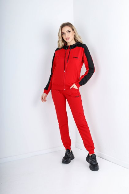 Спортивный костюм Demma 849 42-44 Красный (4821000050040_Dem2000000014050) - изображение 1
