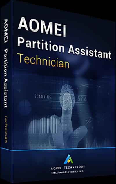 Системная утилита AOMEI Partition Assistant Technician (для 1 специалиста для предоставления тех. услуг третьим лицам) (PAT-00) - изображение 1