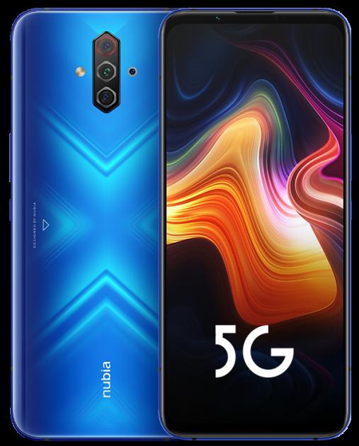 Мобильный телефон Nubia Play 5G 8/256GB Blue - изображение 1