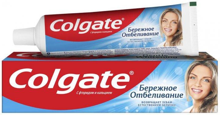 Зубная паста Colgate Бережное отбеливание 100 мл (7891024188279) - изображение 1