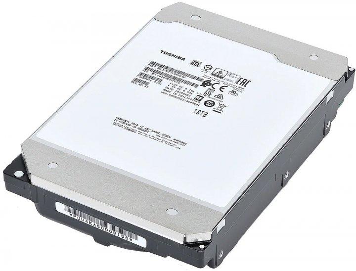 Жорсткий диск Toshiba Enterprise Performance 18TB 7200rpm 512MB MG09SCA18TE 3.5 SAS - зображення 1