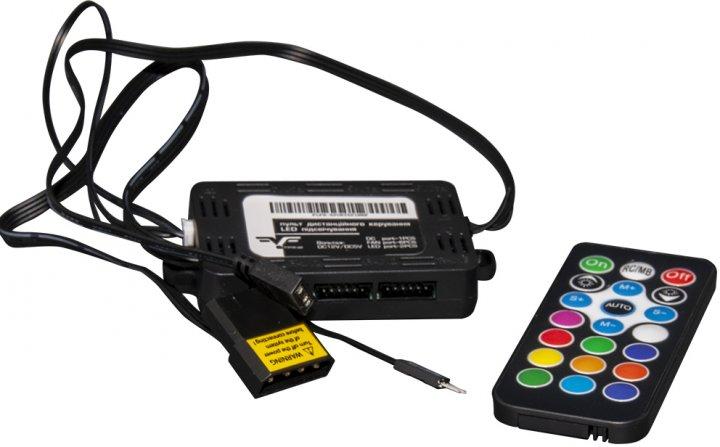 Хаб для керування RGB-підсвіткою Frime 6 FAN port + 1 LED port (FLFH-6port6pinRF) - зображення 1
