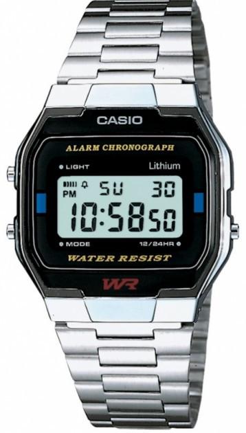 Годинник чоловічий Casio A163WA-1QES - изображение 1