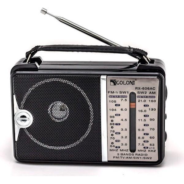 Радиоприёмник Golon RX-607AC черный - изображение 1