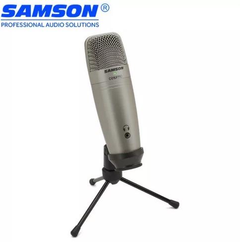 Микрофон Samson C01U Pro творчество/подкасты - изображение 1