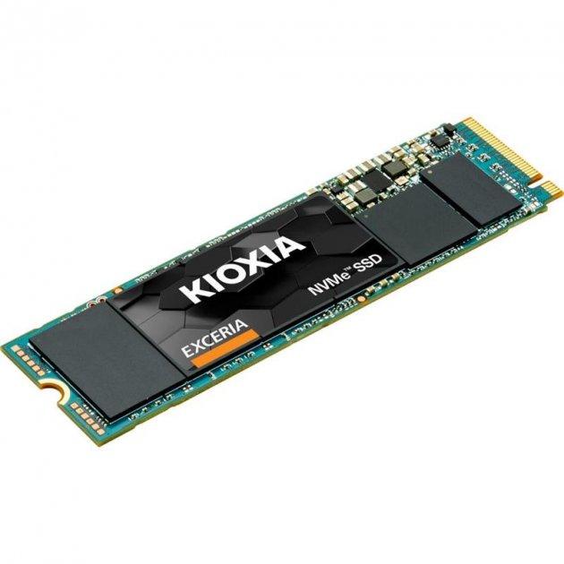 Накопитель SSD 500GB Kioxia Exceria M.2 2280 PCIe 3.0 x4 TLC (LRC10Z500GG8) - изображение 1