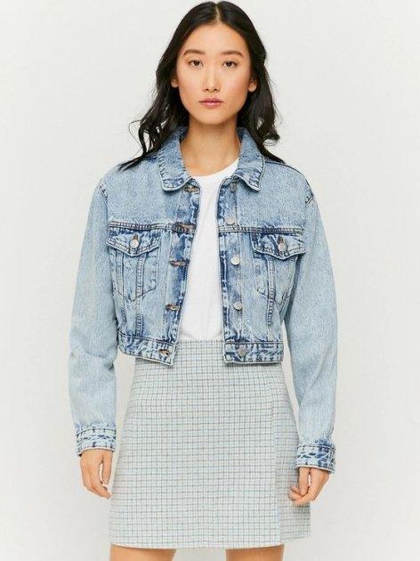 Джинсовая куртка Tally Weijl SJADEBOXY-EHBL M (7612959111565) - изображение 1