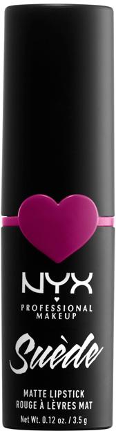 Помада для губ NYX Professional Makeup Suede Matte Lipstick 32 Copenhagen 3.5 г (800897192167) - изображение 1