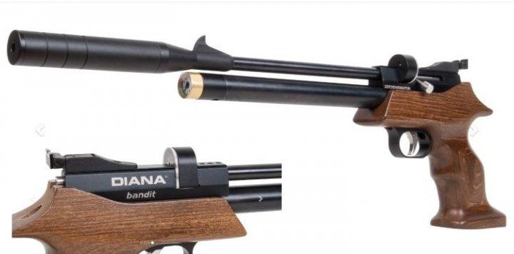 Пістолет пневматичний Diana Bandit PCP (377.03.10) - зображення 1