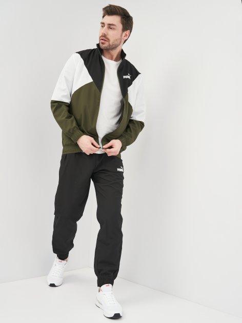 Спортивный костюм Puma CB Retro Woven Tracksuit 58584870 S Forest Night (4063697491120) - изображение 1