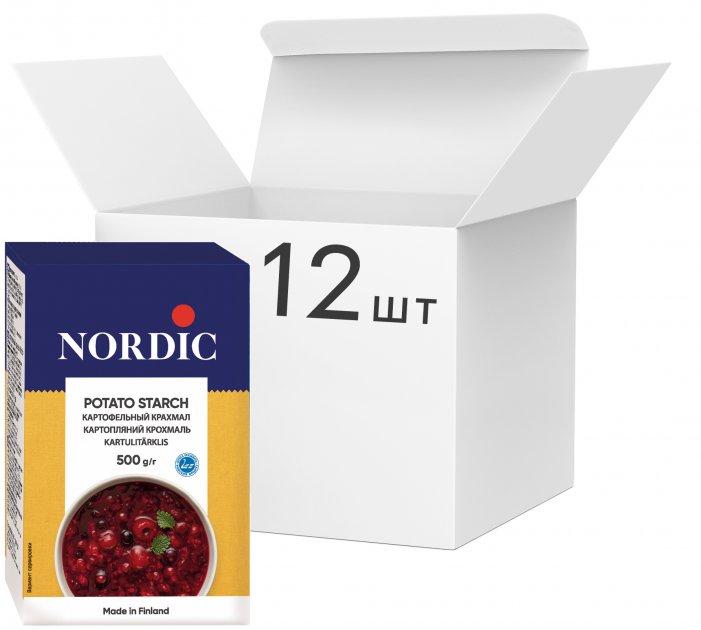 Упаковка крахмала картофельного NordiC 500 г х 12 шт (6411200200475) - изображение 1