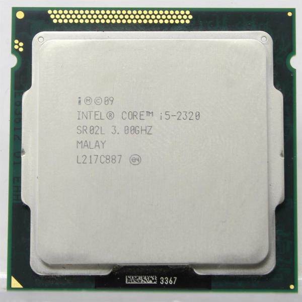 Процесор Intel Core i5-2320 (S1155/4x3.0GHz/5GT/s/6MB/95 Вт/BX80623I52320) Б/У - зображення 1