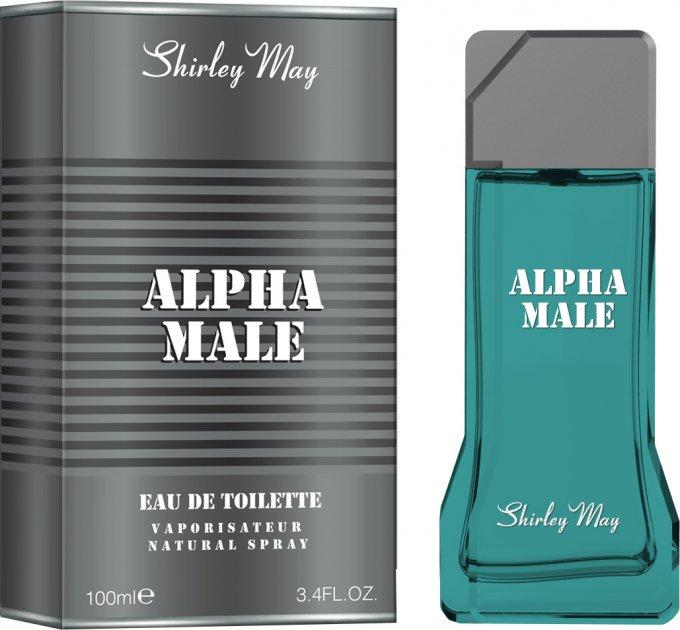 Туалетная вода для мужчин Shirley May Alpha Male 100 мл (MM35781) (6295124027062) - изображение 1