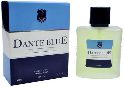 Туалетная вода для мужчин Lotus Valley Dante Blue 100 мл (MM35719) (6291104324893) - изображение 1