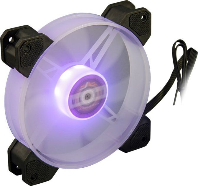 Кулер Frime Iris LED Fan Mid RGB HUB (FLF-HB120MRGBHUB8) - зображення 1