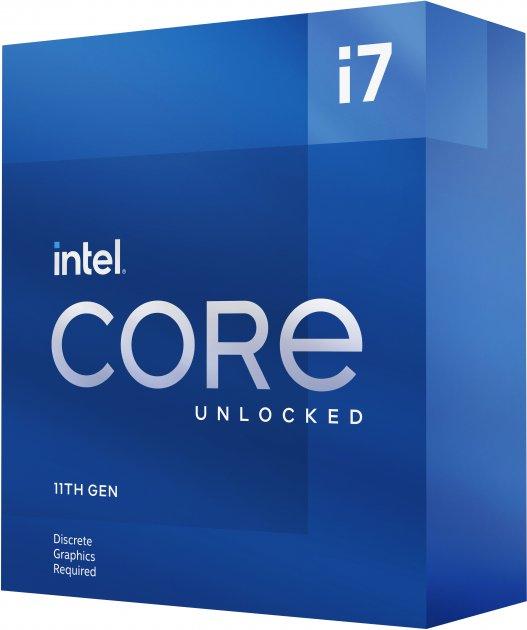 Процесор Intel Core i7-11700KF 3.6 GHz / 16 MB (BX8070811700KF) s1200 BOX - зображення 1