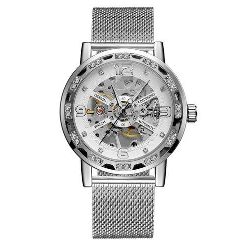 Часы наручные Forsining GMT1201 Silver-White - изображение 1